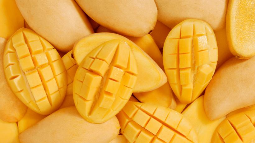 photos of mango fruit - mangos are not toxic to cats